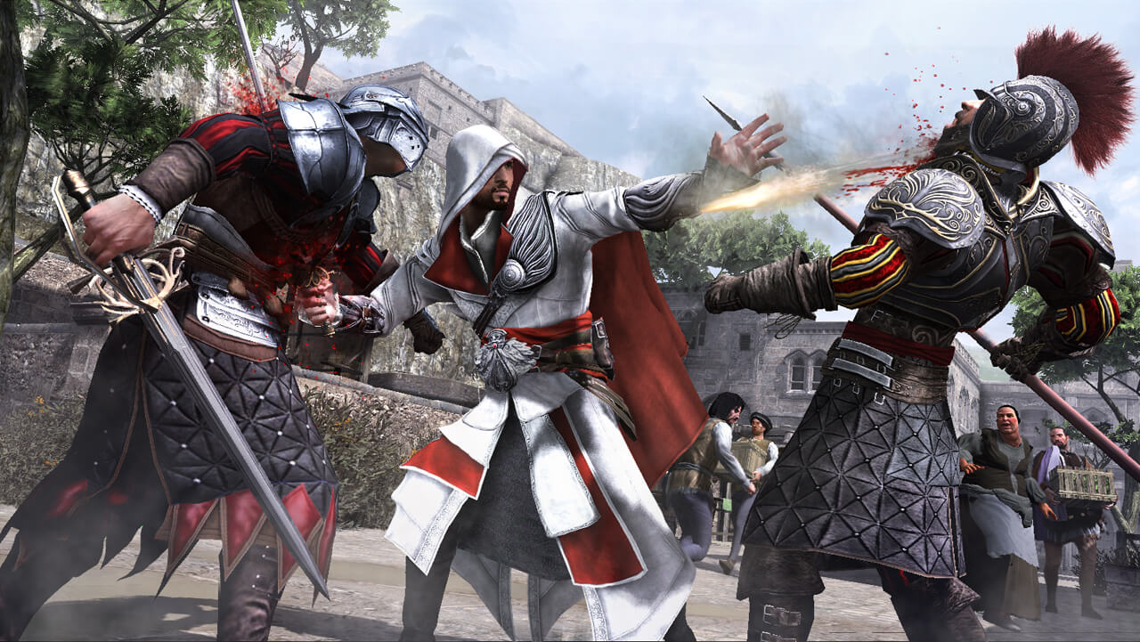 assassins creed brotherhood hikaye