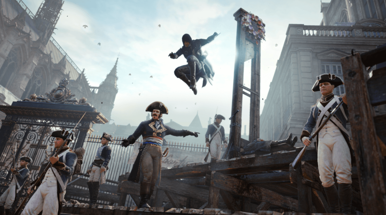 Assassin's Creed Unity hikaye