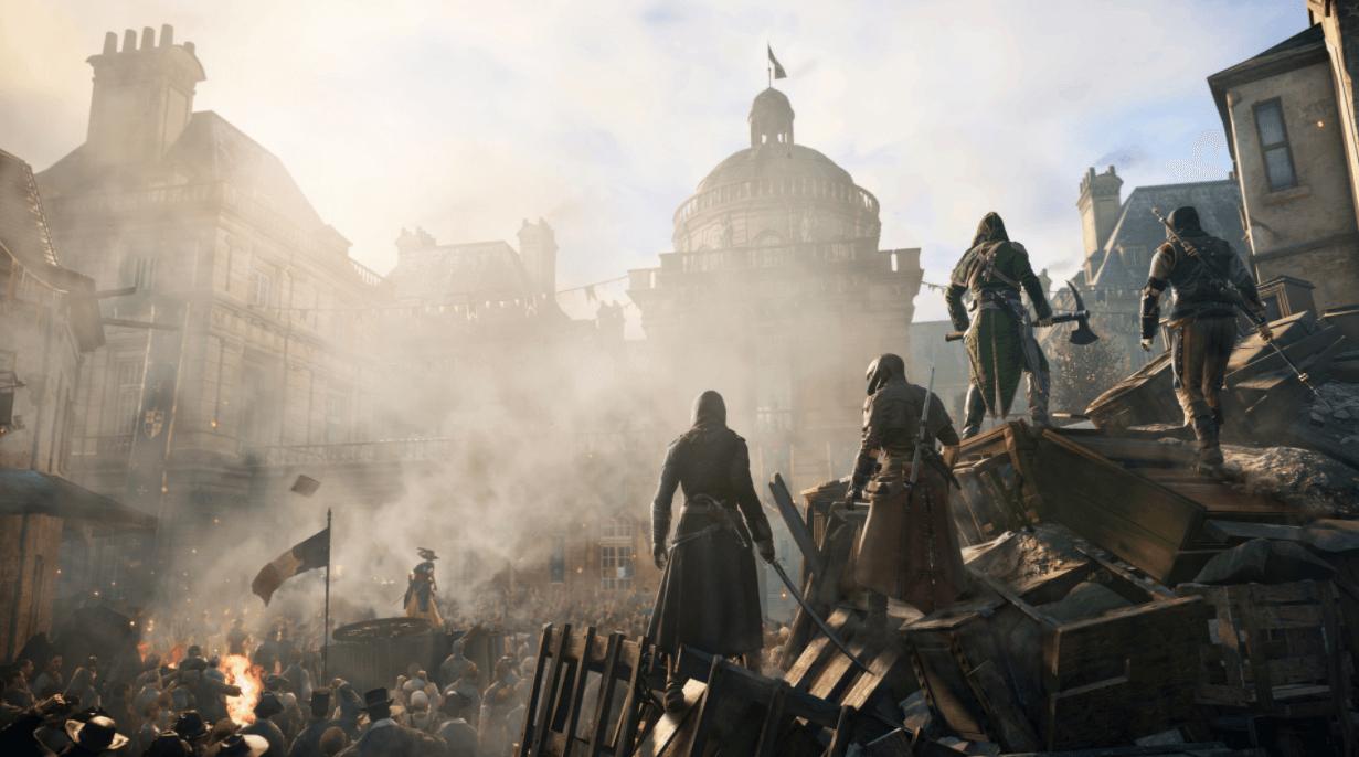Assassin's Creed Unity hikayesi