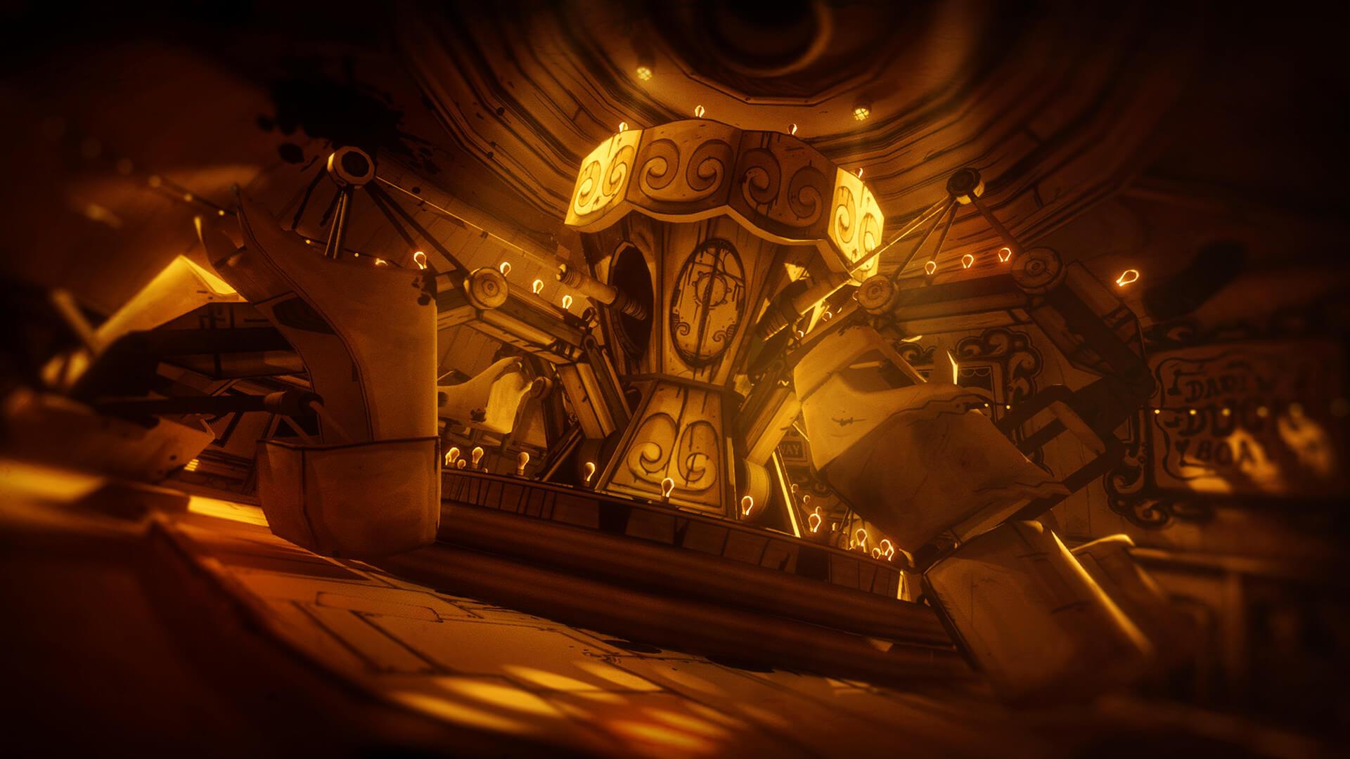 bendy and the ink machine oyun hikayesi