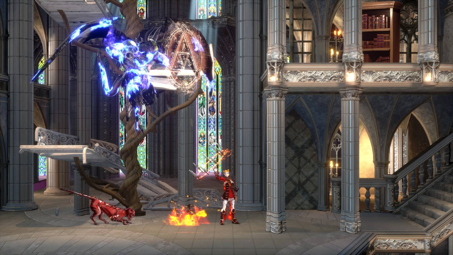 bloodstained ritual of the night side scroller oyun