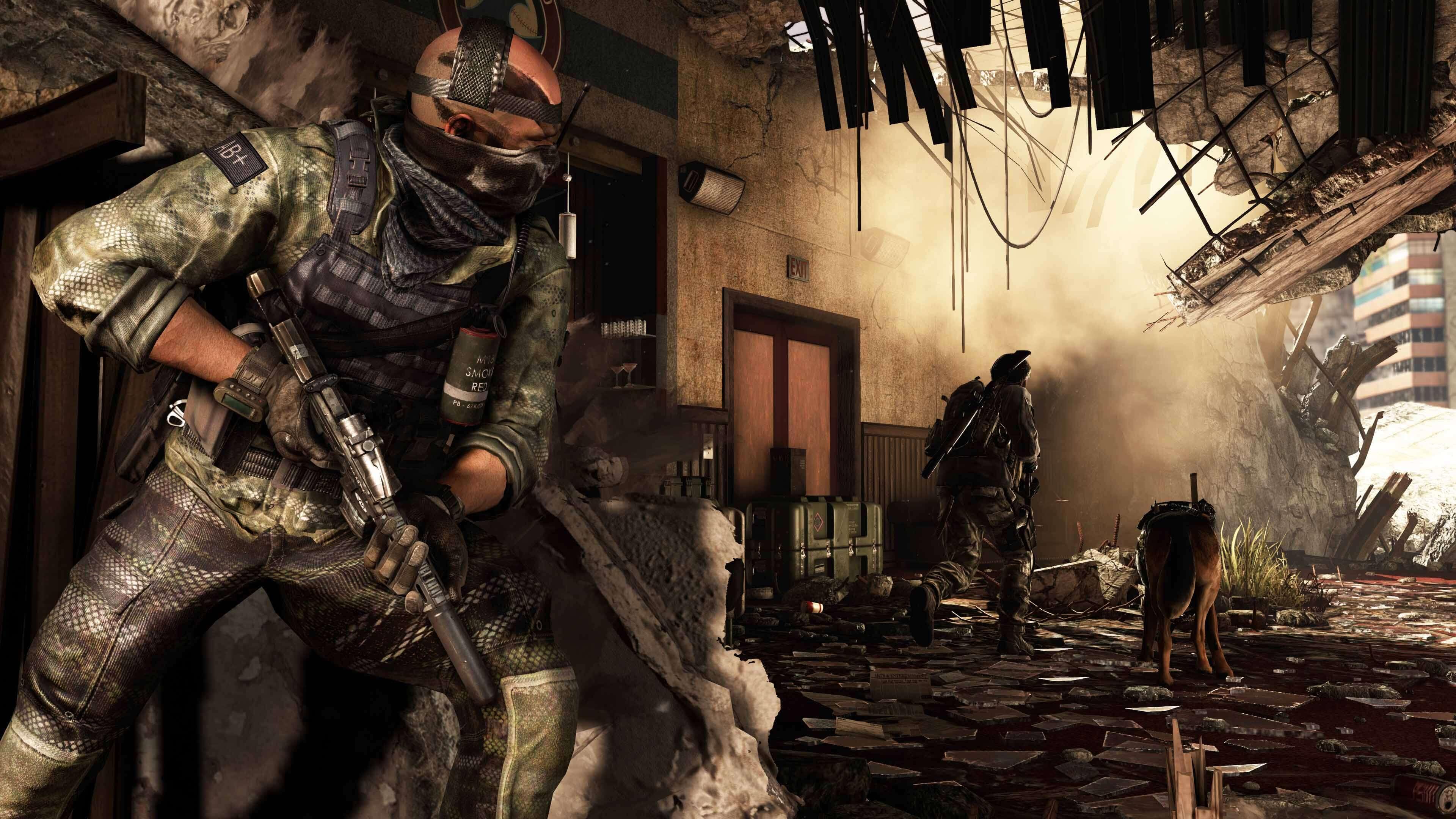 Call of Duty Ghosts hikayesi
