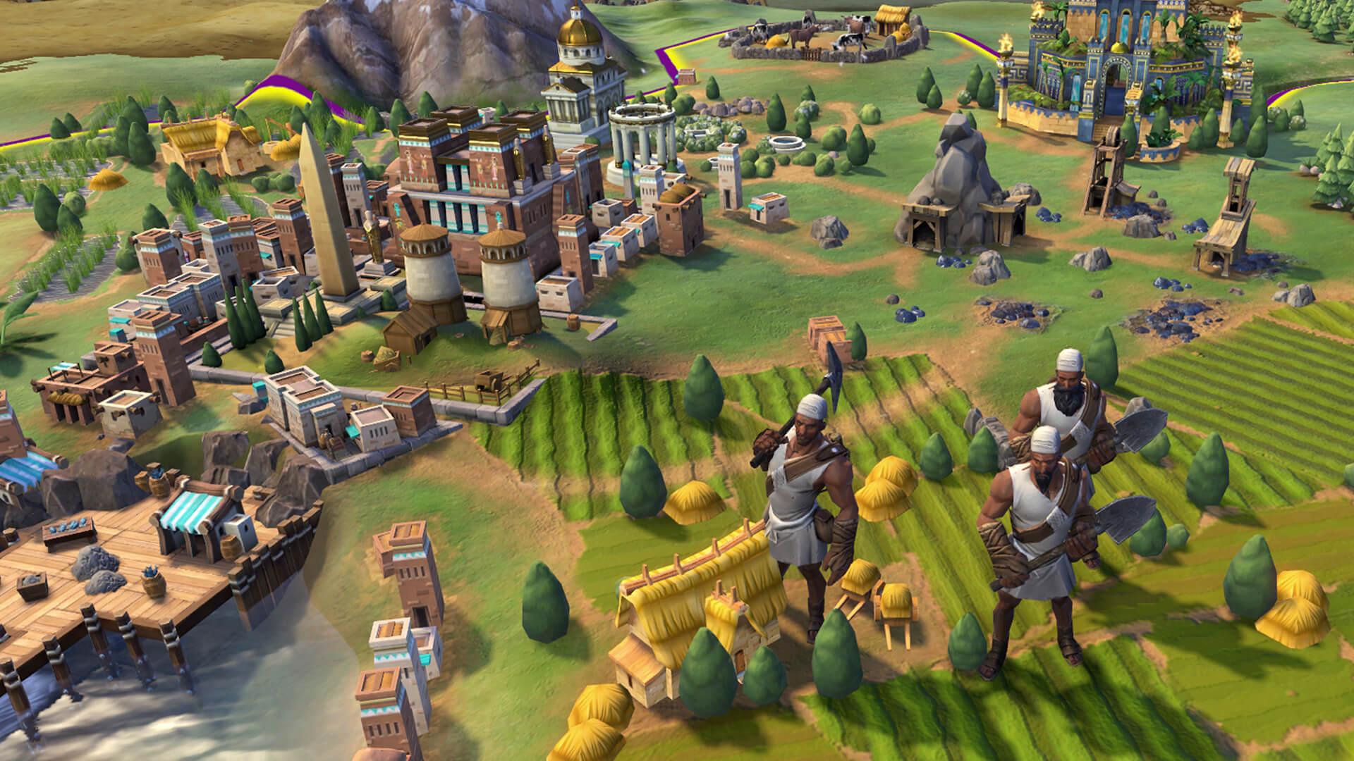 Civilization 6 strateji oyunu sıra tabanlı