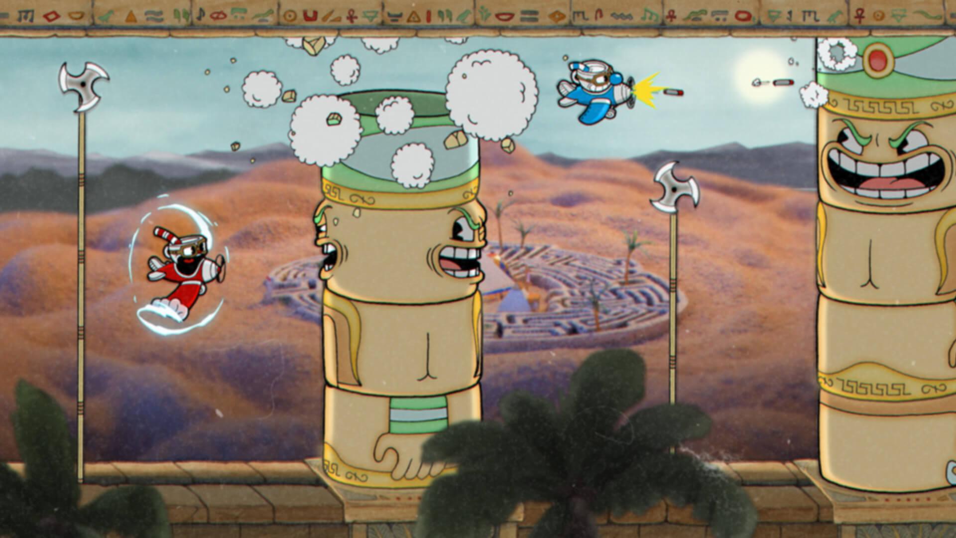 Cuphead gameplay