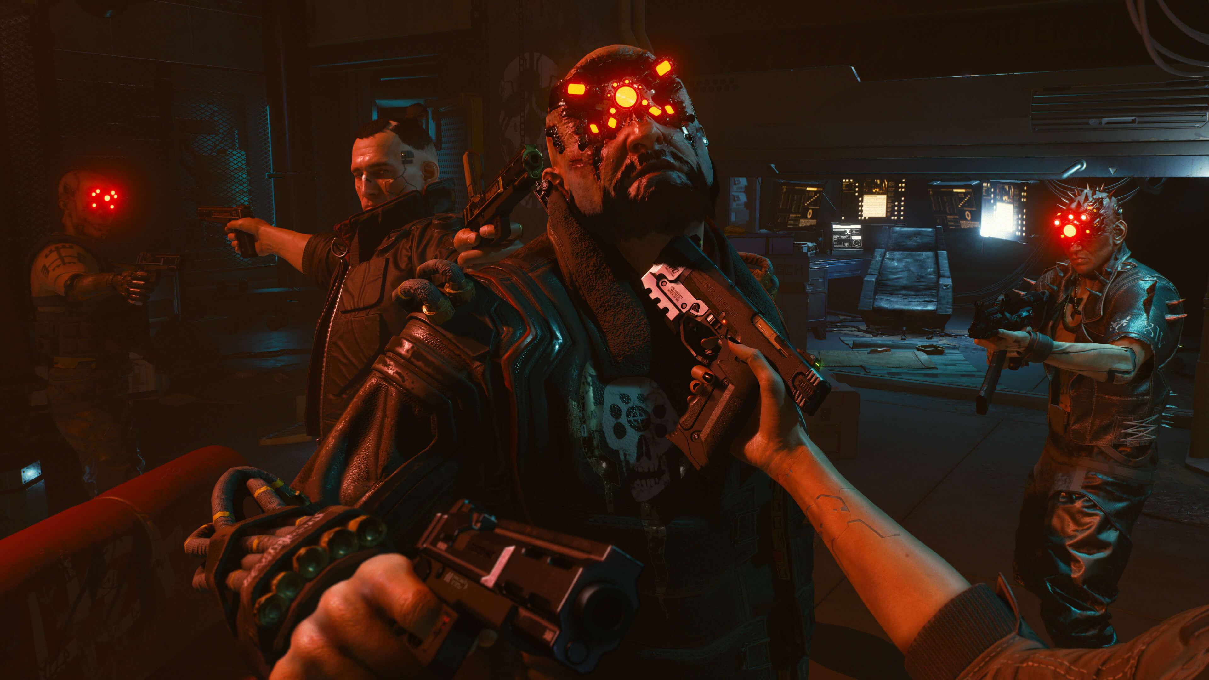 Cyberpunk 2077 açık dünya rpg oyun