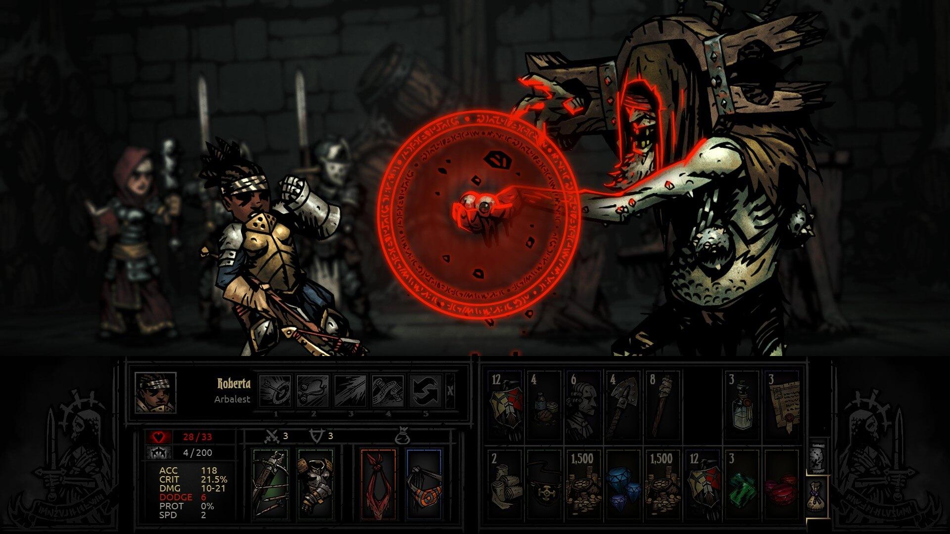 Darkest dungeon en iyi roguelike oyun inceleme