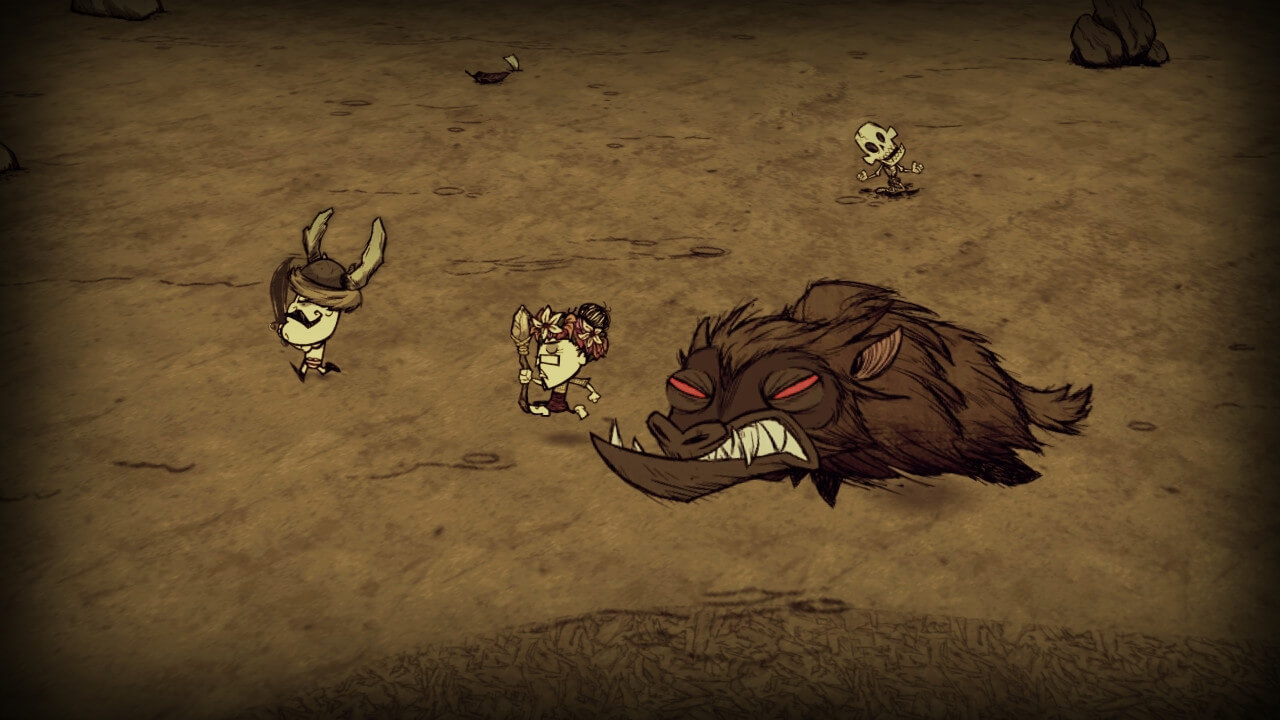 Don't starve together boss
