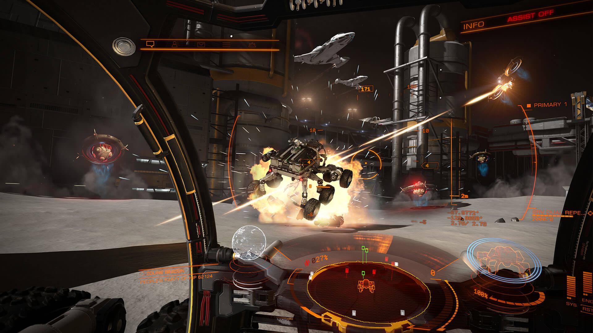 Elite dangereous online uzay oyunu