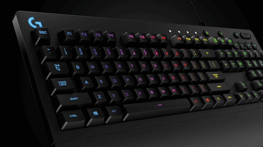 logitech gaming klavye