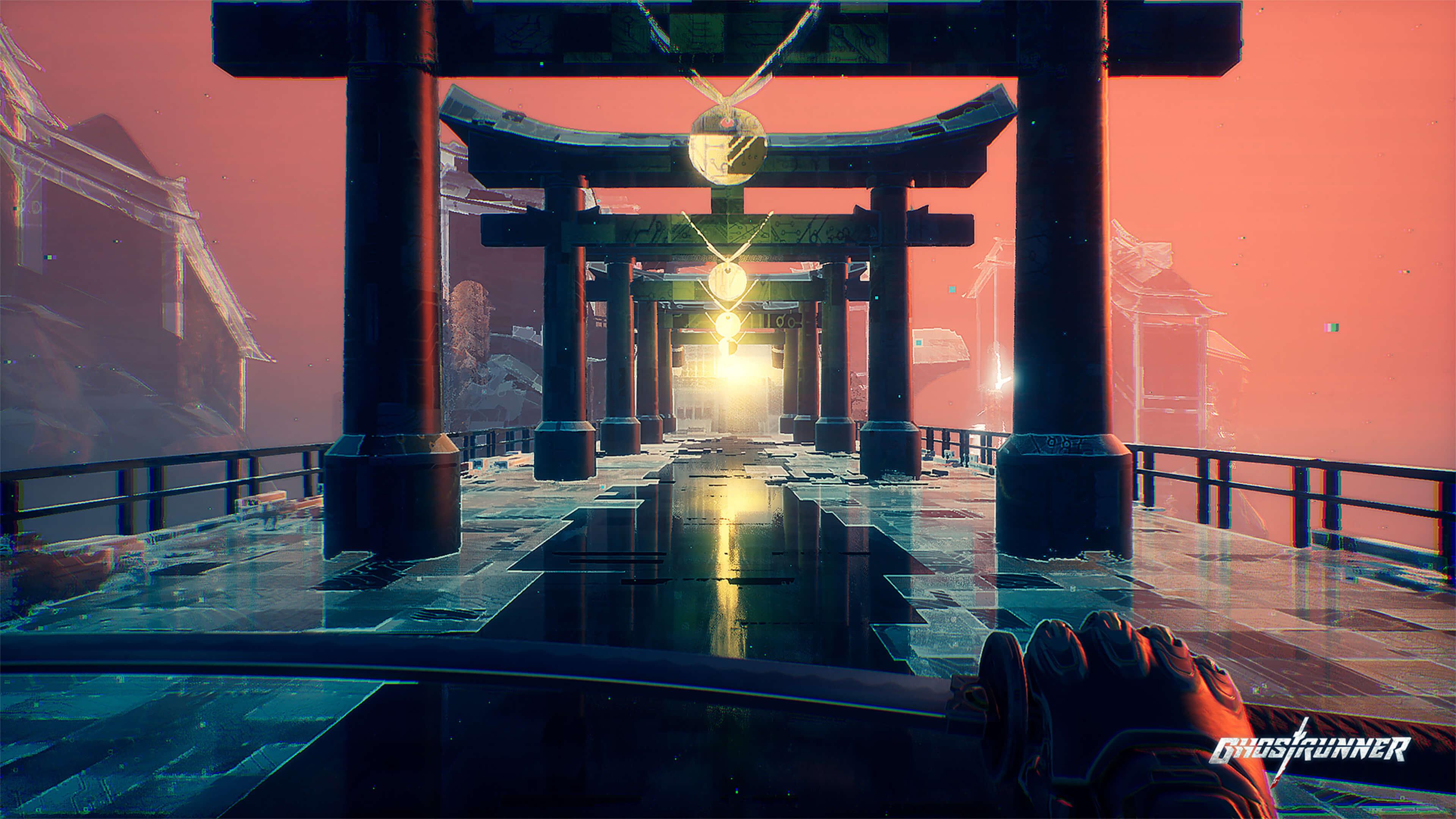 Ghostrunner cyberpunk oyun inceleme