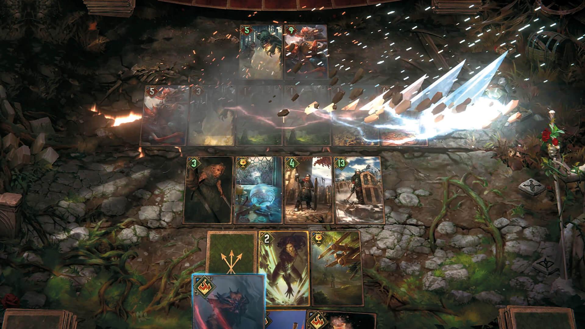 Gwent ücretsiz kart oyunu the witcher