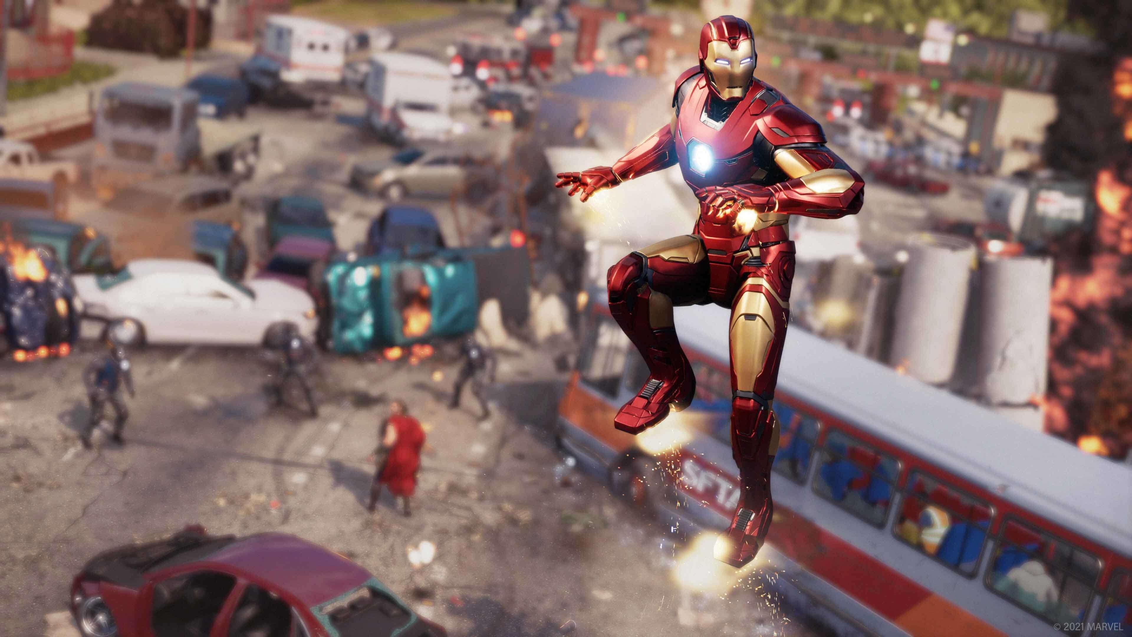 Marvel's Avengers online oyun pve