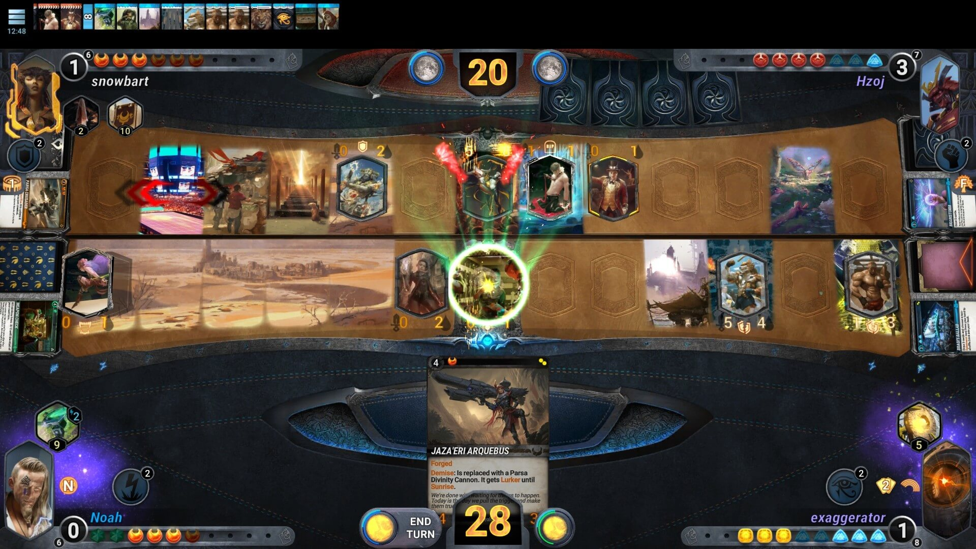 Mythgard ücretsiz kart oyunu