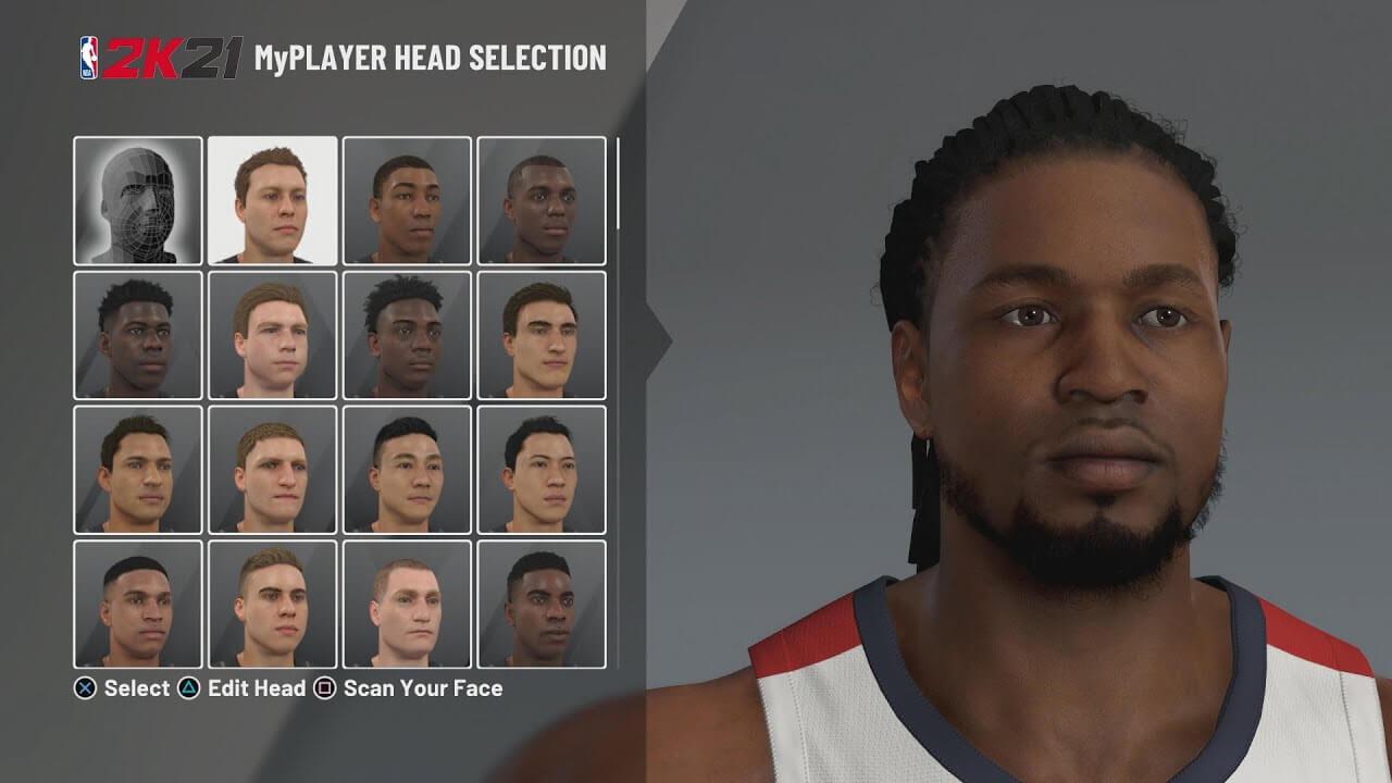 NBA2K21 Karakter yaratma