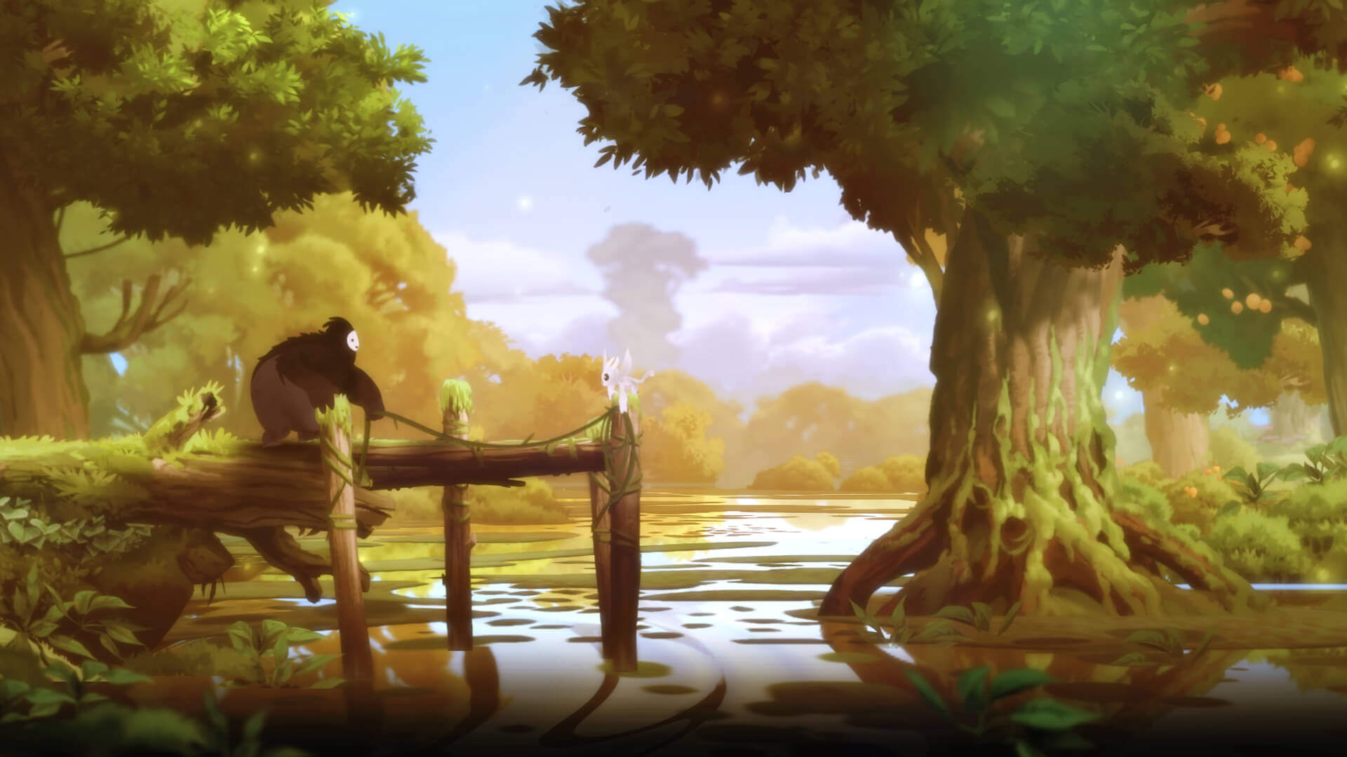 ori and the blind forest hikaye