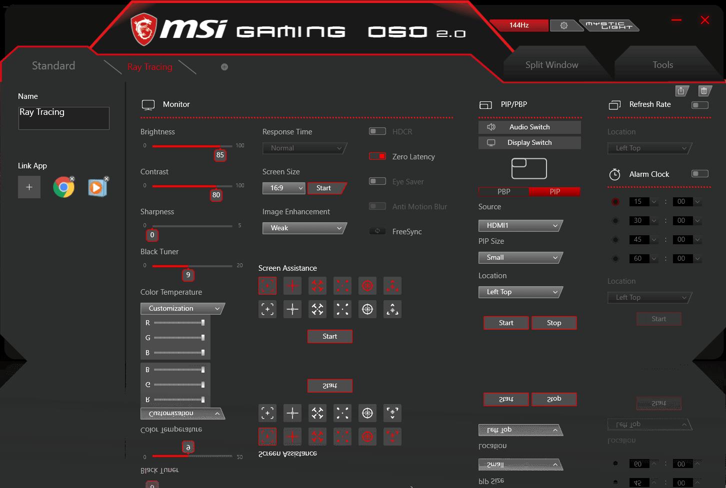 gaming osd 2.0