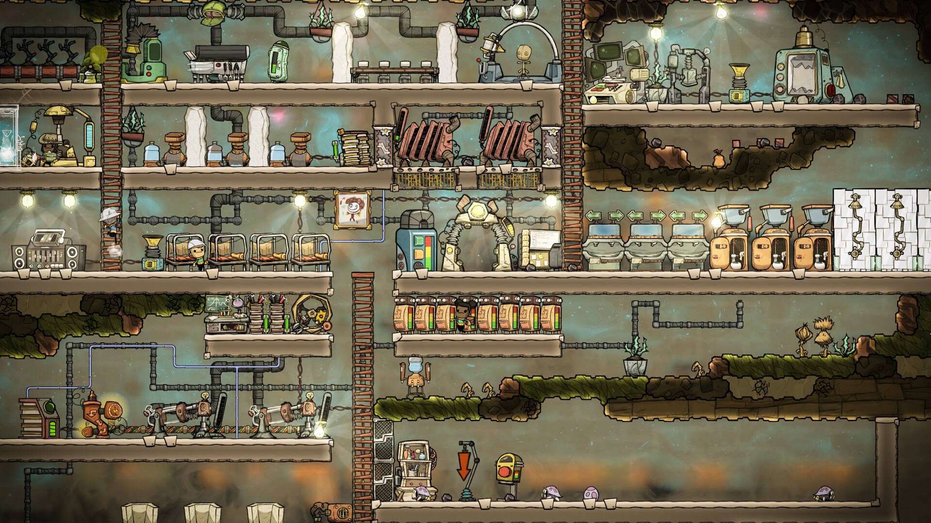 Oxygen not included oyun inceleme