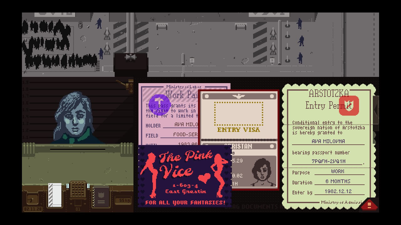 Papers Please oyun steam