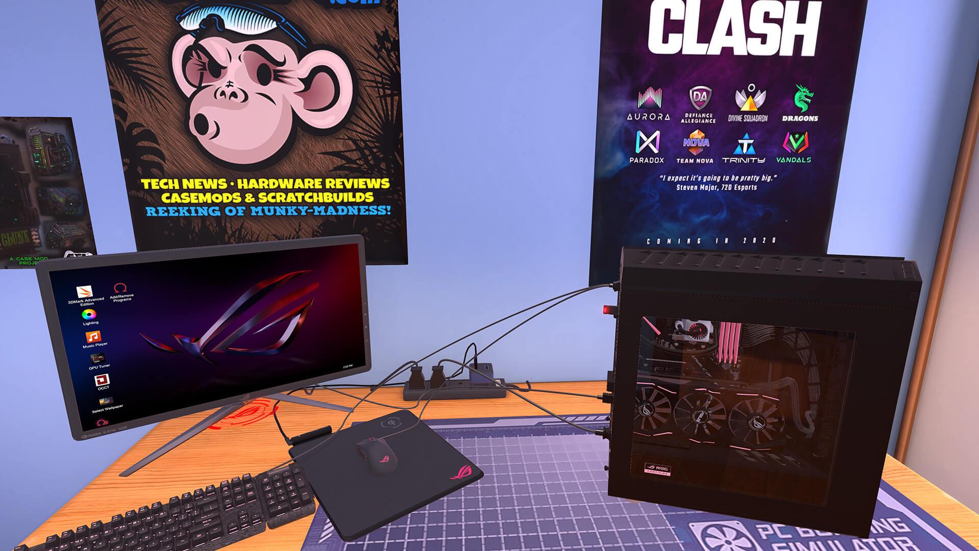 PC Building simulator oyun