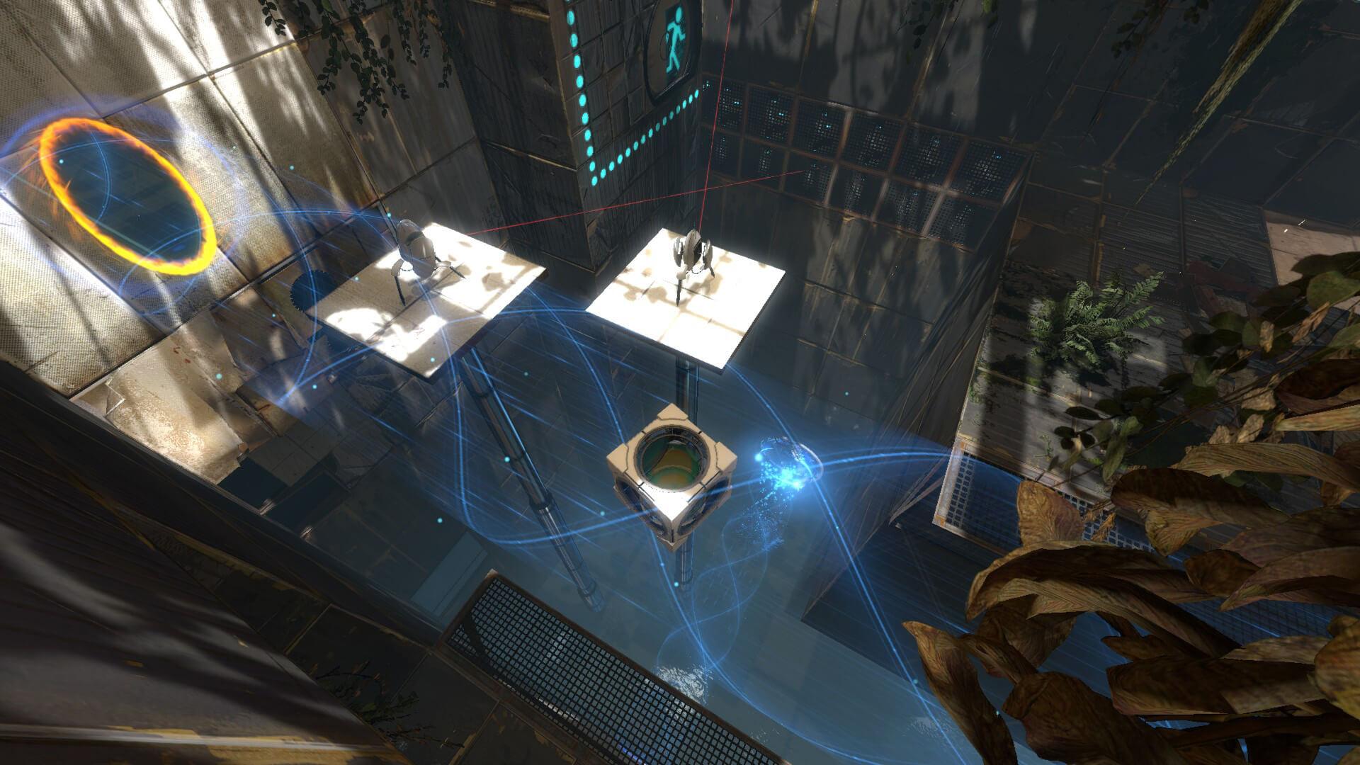 Portal 2 co op platform oyunu