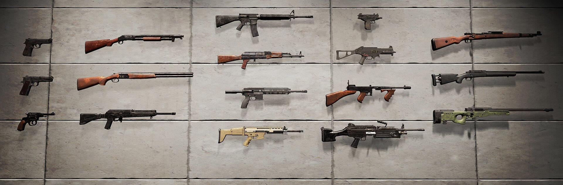 pubg en iyi silahlar