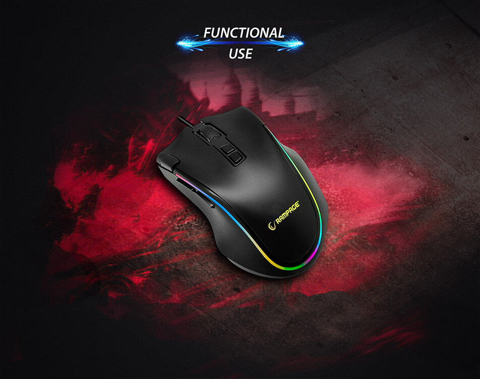 rampage gaming mouse