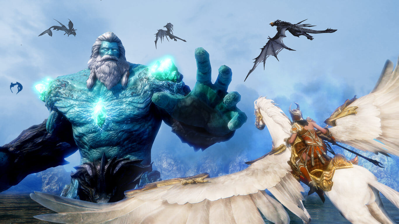 riders of icarus gameplay