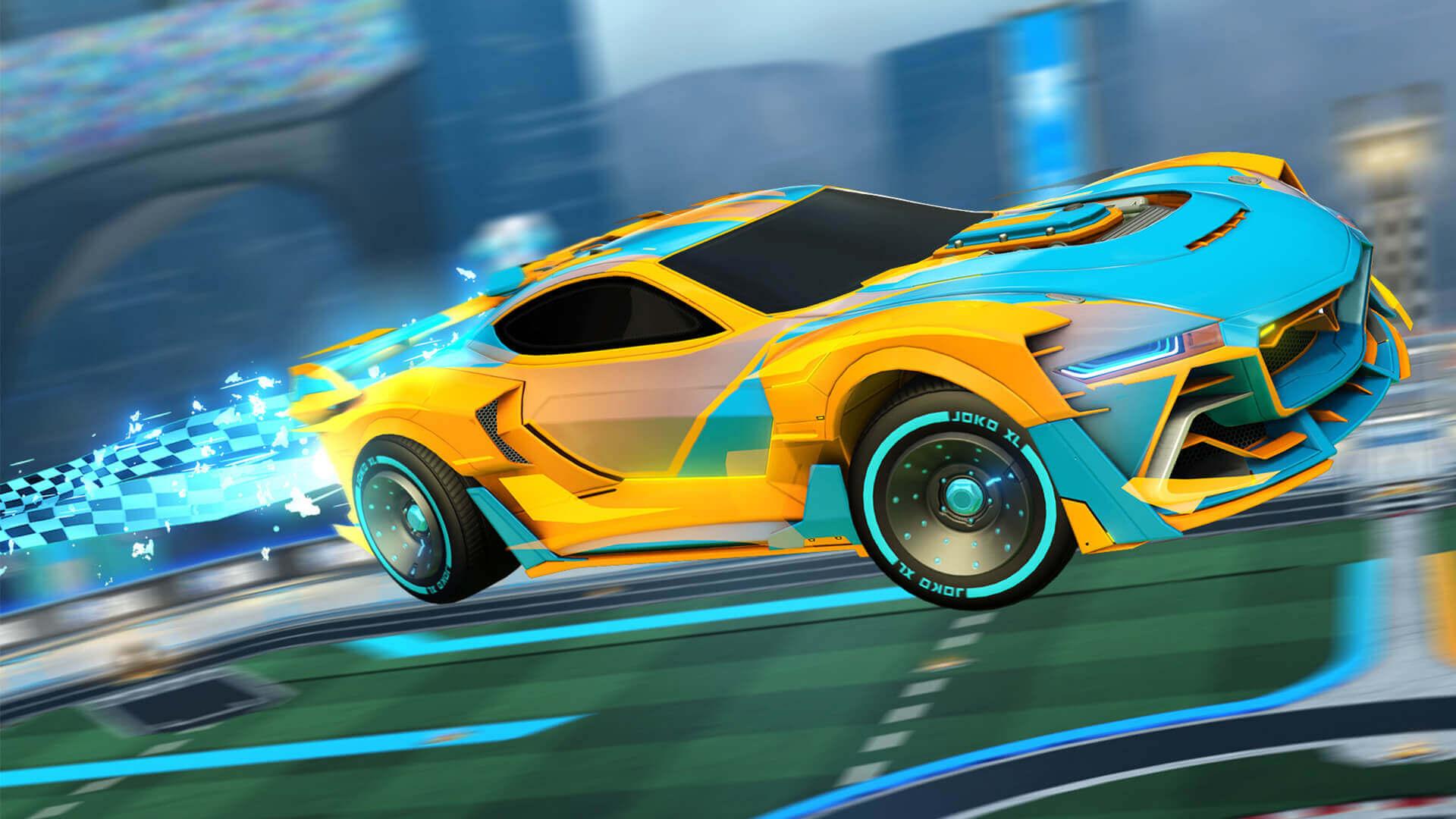 Rocket league co op arcade yarış oyunu