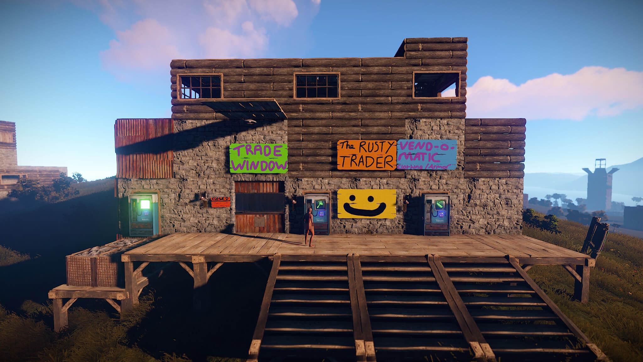 Rust steam oyun co-op
