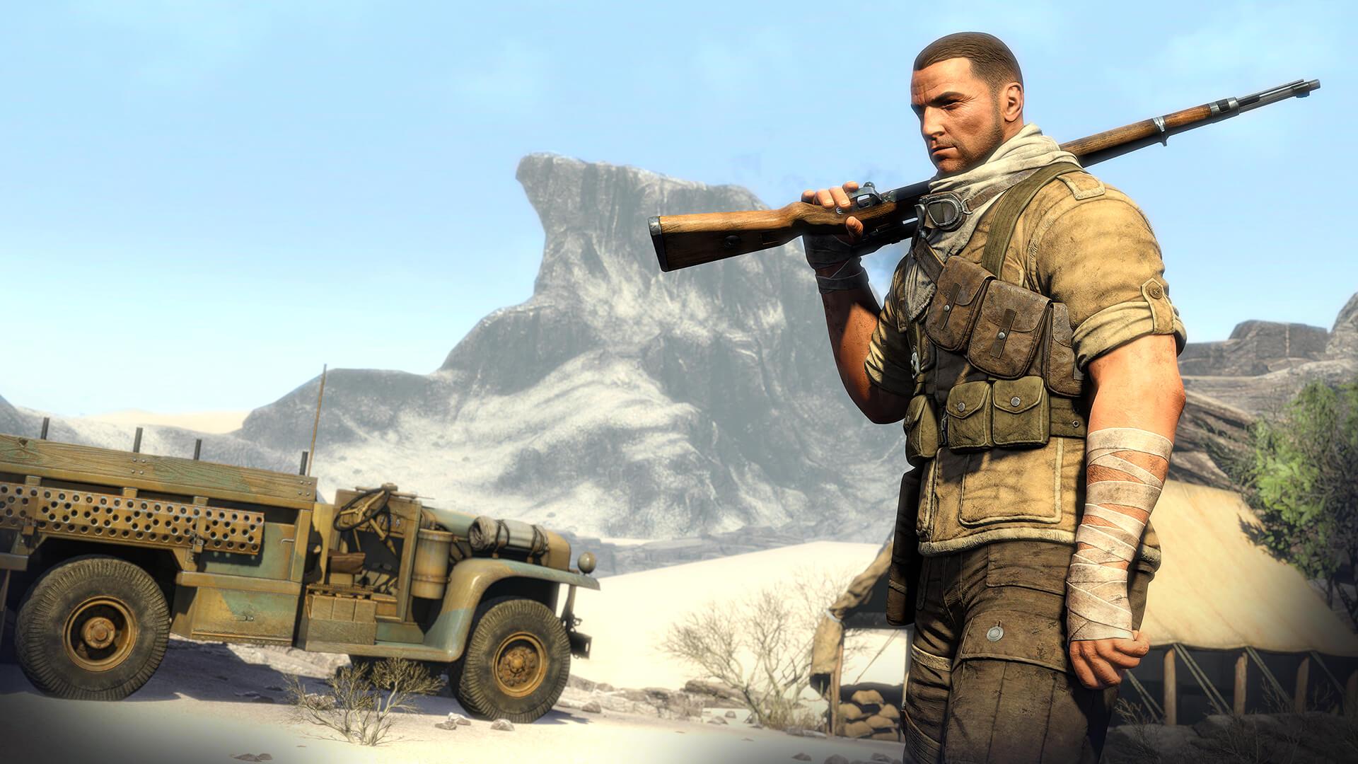 Sniper Elite 3 hikaye