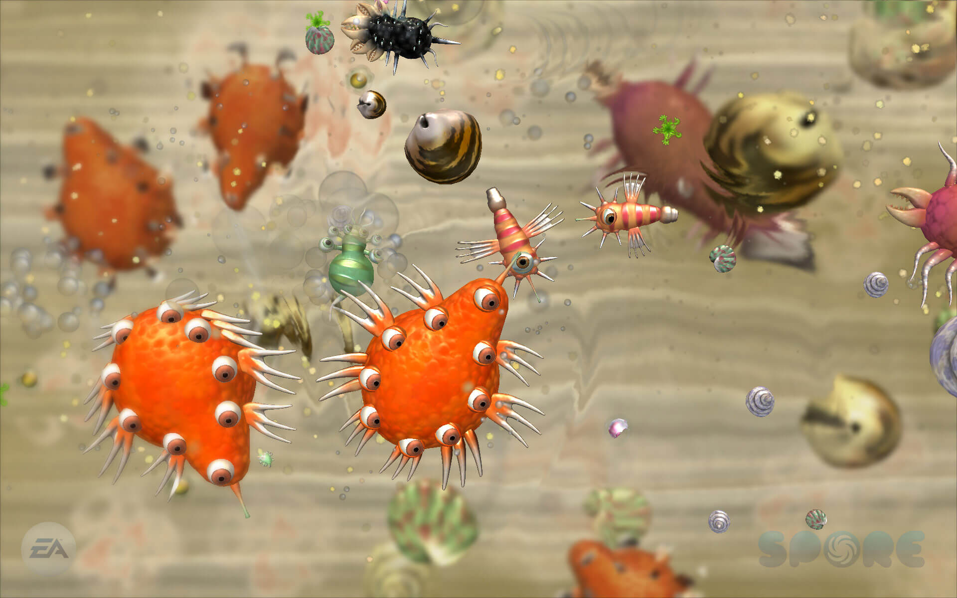 Spore Cell Stage Oyun inceleme