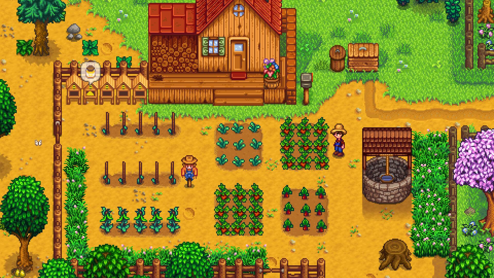 Stardew Valley çiftlik oyunu co op