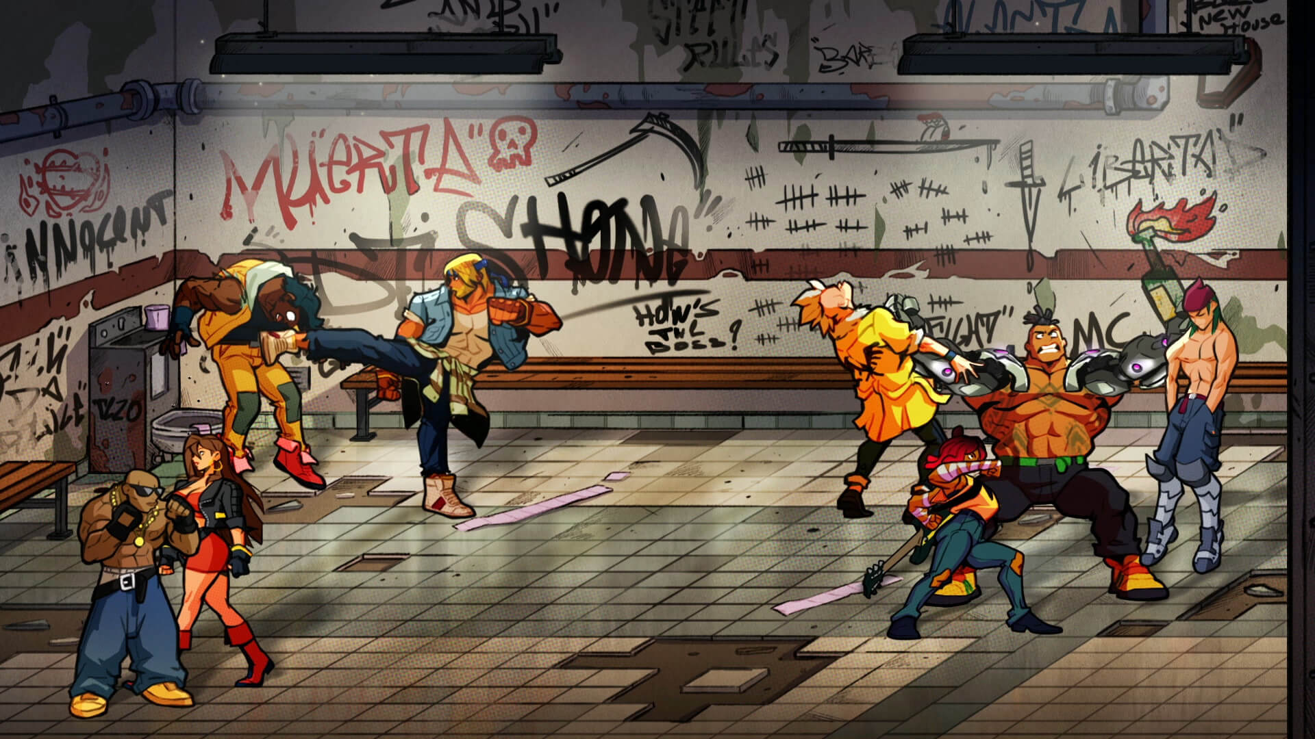 Streets of rage 4 side scroller oyun steam