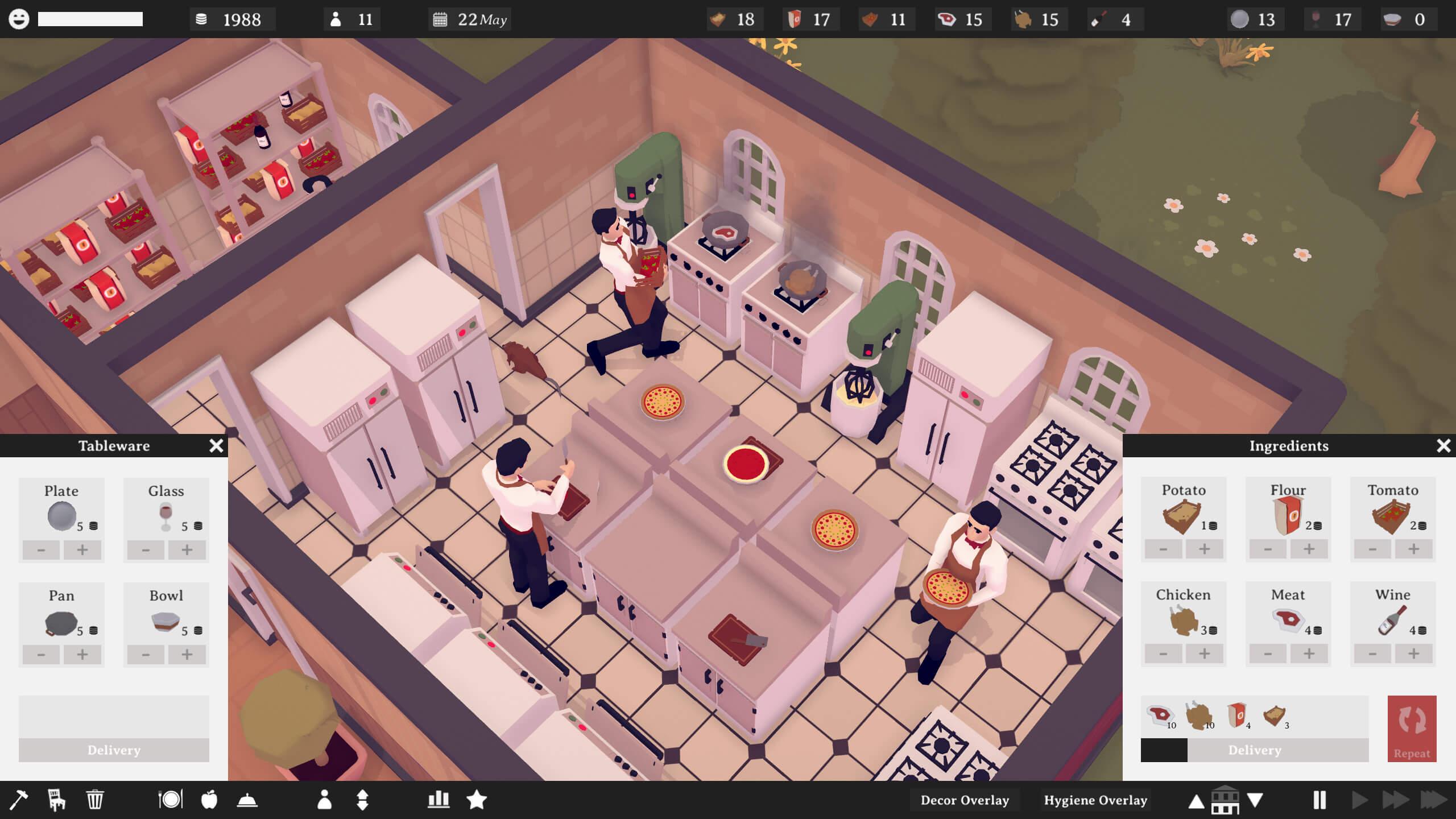 TasteMaker oyun inceleme simülasyon