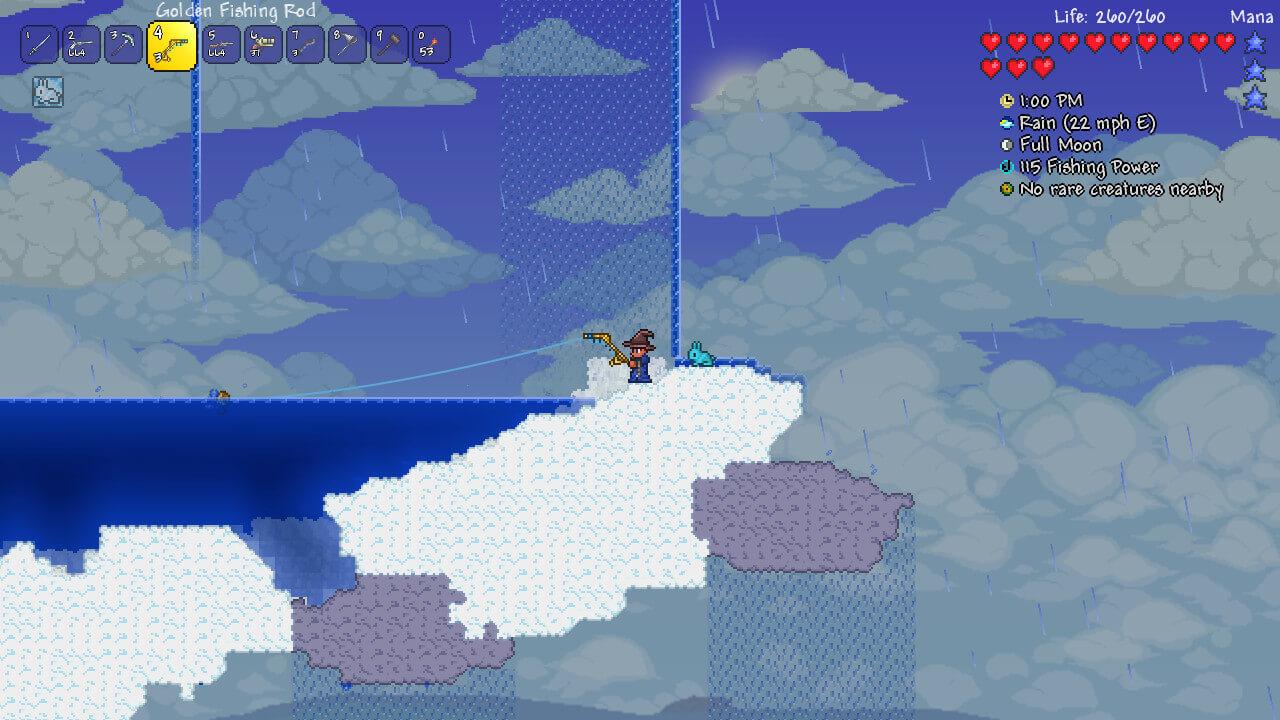 Terraria side scroller sandbox oyun