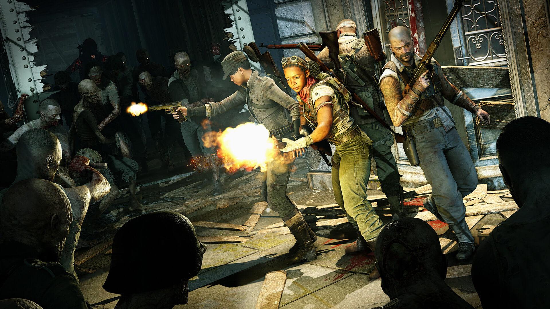 zombie army 4 hikayesi