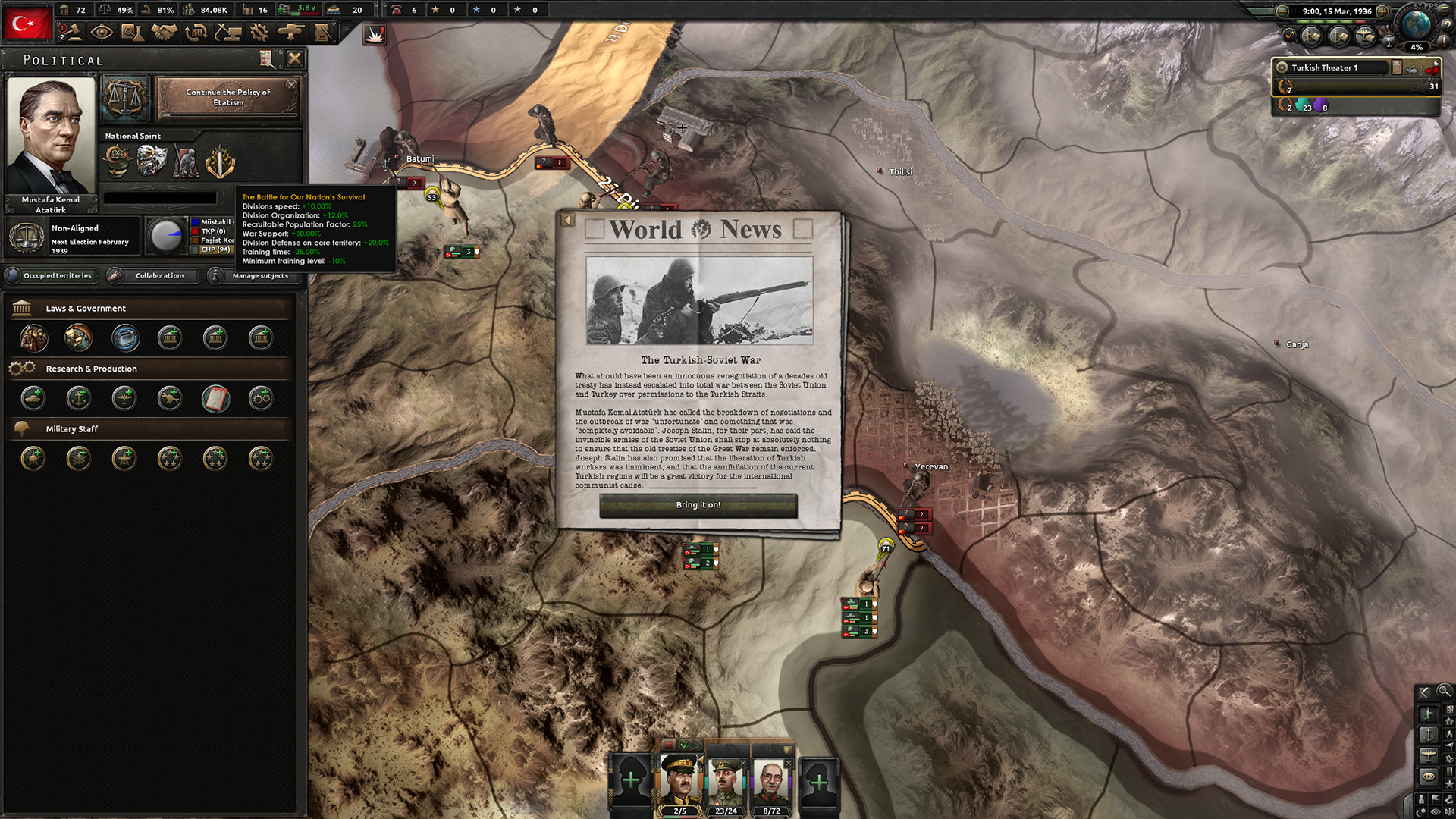 Expansion - Hearts of Iron IV: Battle for the Bosporus