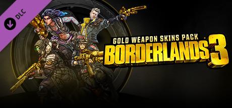 Borderlands 3: Gold Weapon Skins Pack