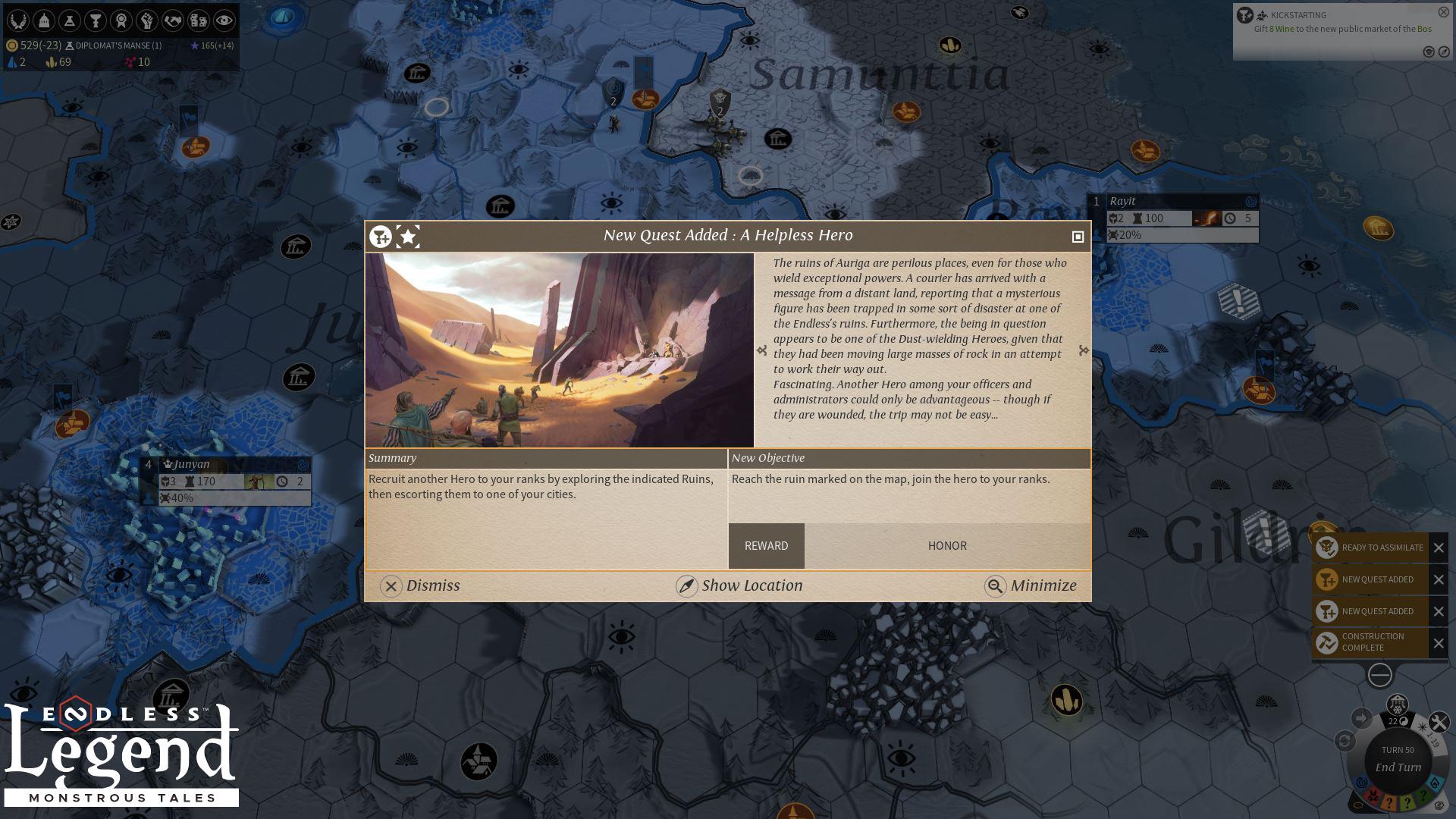 Endless Legend™ - Monstrous Tales