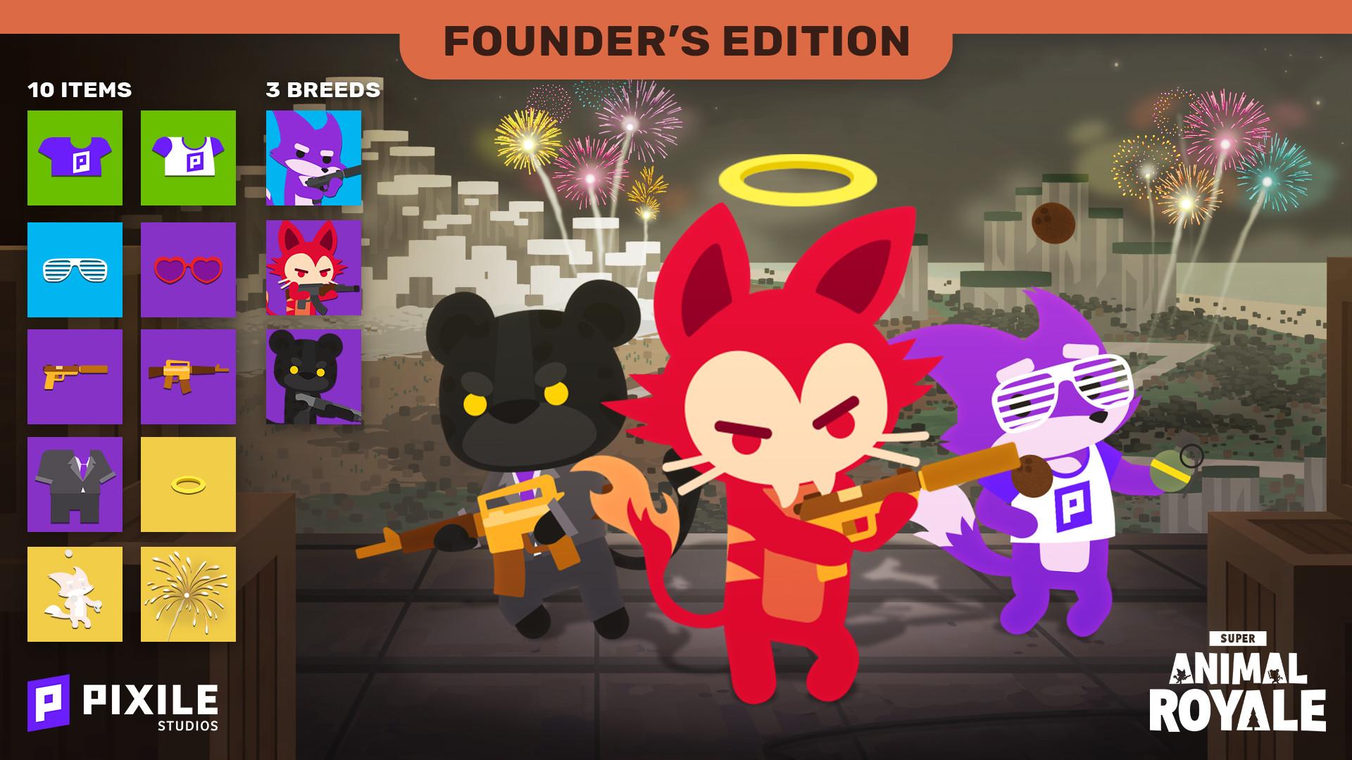 Super Animal Royale Founder's Edition PC Key Fiyatları