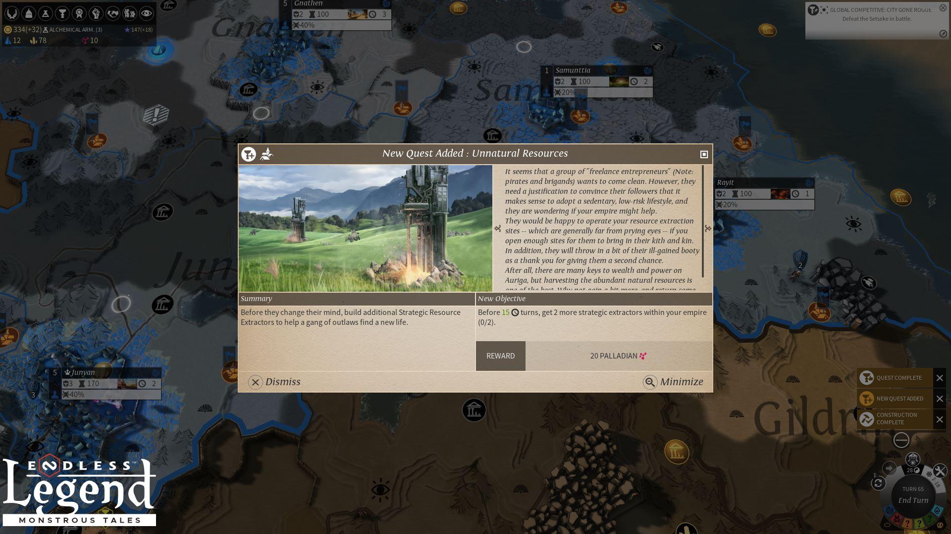 Endless Legend™ - Monstrous Tales PC Fiyatları