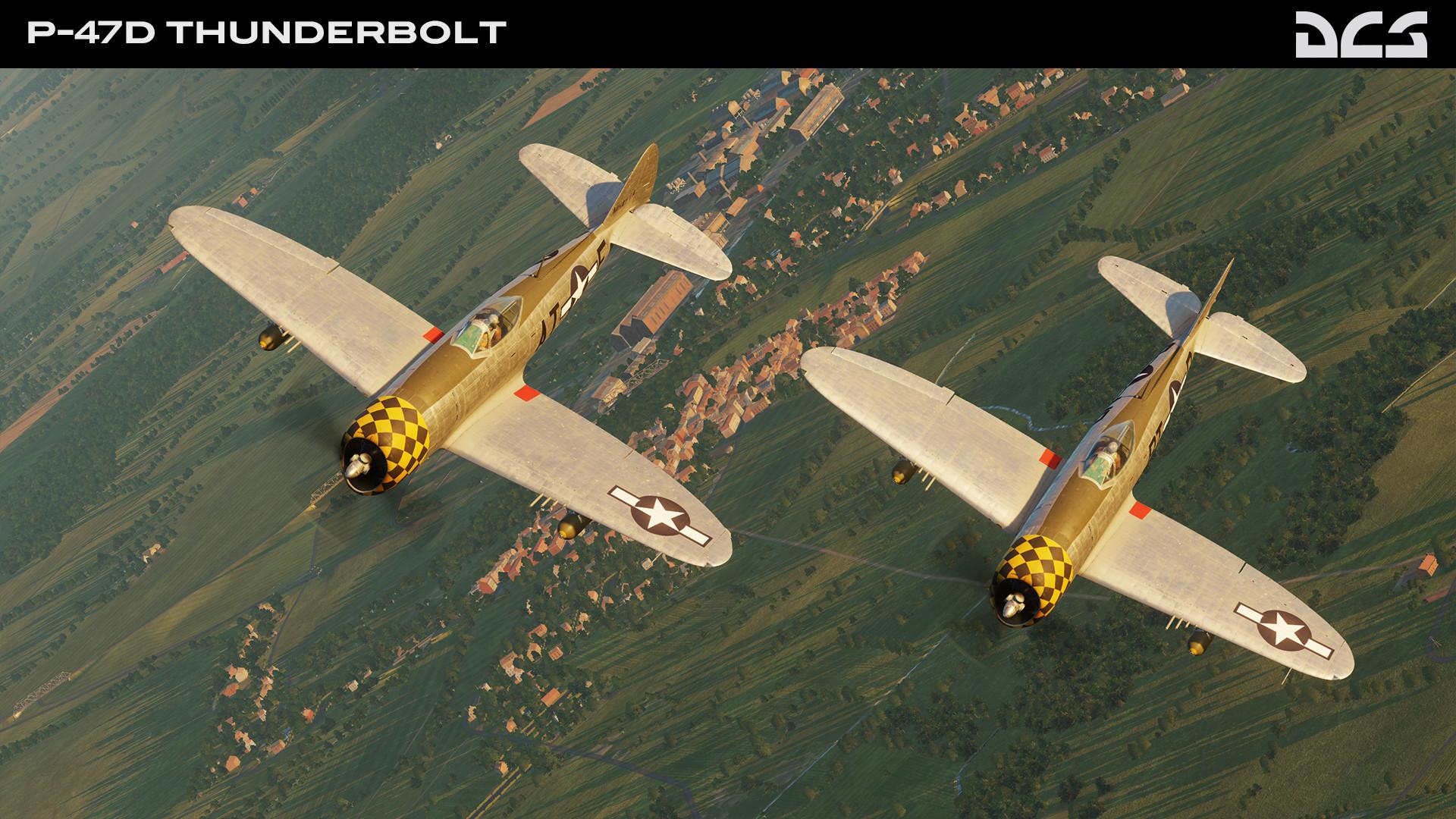 DCS: P-47D Thunderbolt
