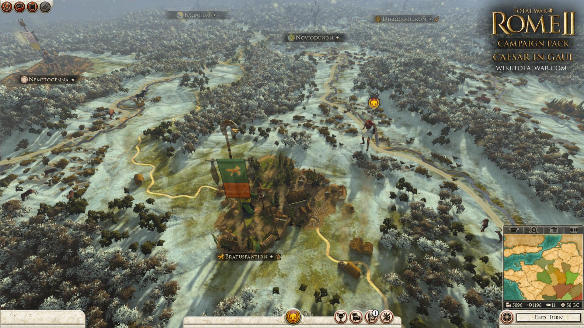 Total War: ROME II - Caesar in Gaul Campaign Pack