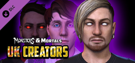 Monsters & Mortals - UK Creators Pack