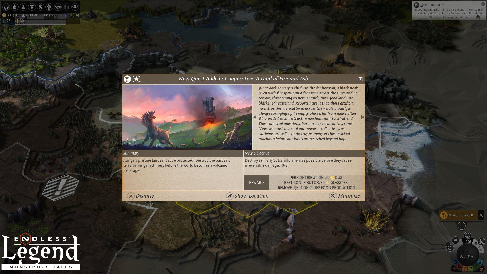 Endless Legend™ - Monstrous Tales PC Key Fiyatları