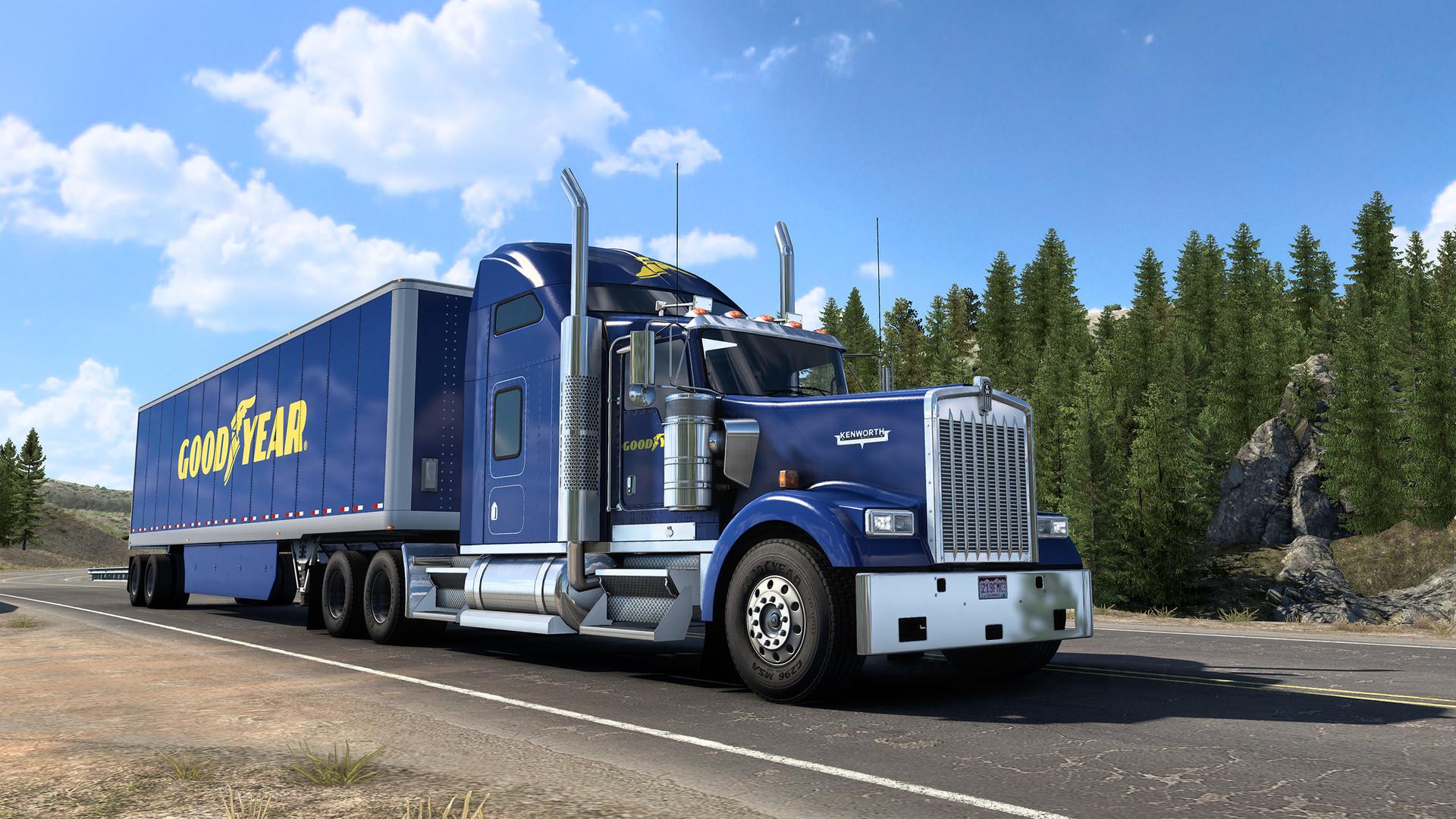 American Truck Simulator - Goodyear Tires Pack PC Key Fiyatları