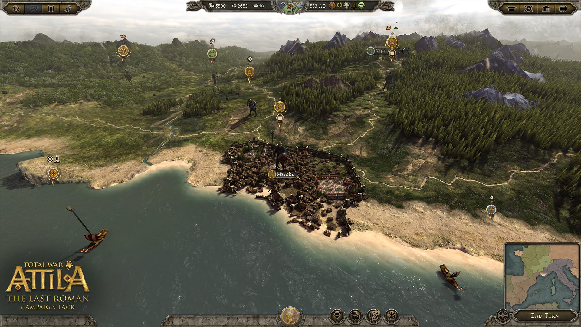 Total War: ATTILA - The Last Roman Campaign Pack Fiyat Karşılaştırma