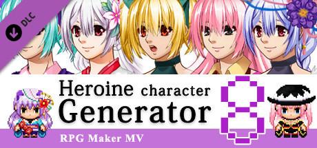 RPG Maker MV - Heroine Character Generator 8