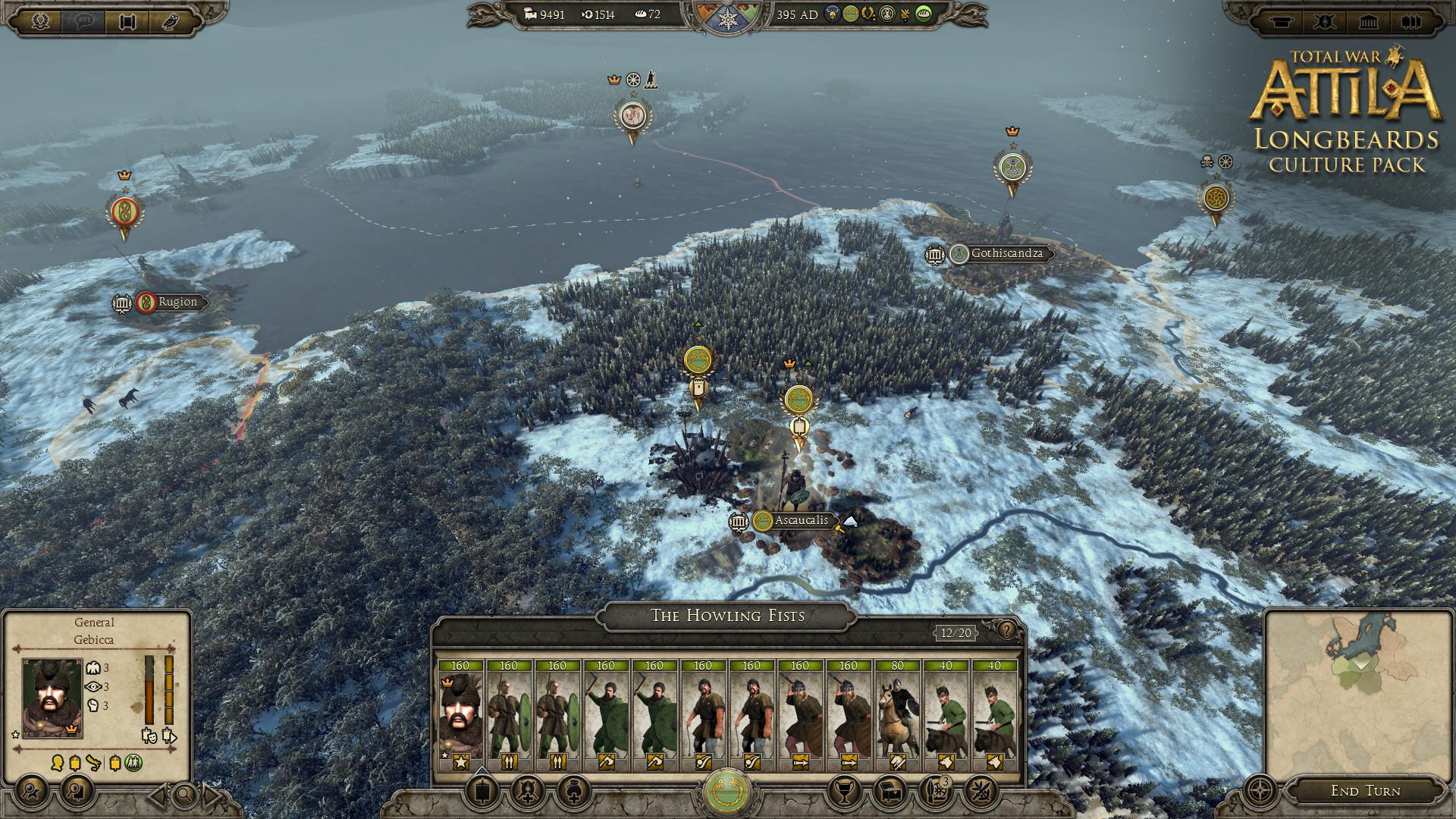 Total War: ATTILA - Longbeards Culture Pack PC Fiyatları