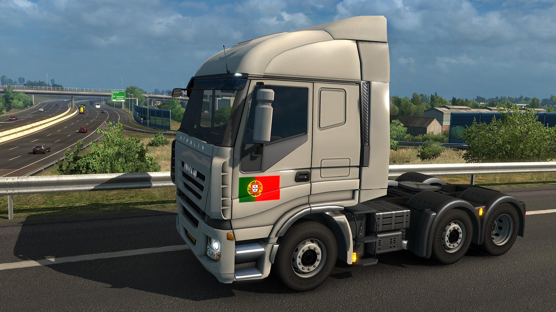 Euro Truck Simulator 2 - Portuguese Paint Jobs Pack PC Key Fiyatları